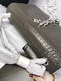 Сумка, клатч Kate Ів Сен Лоран рептилія, натуральна шкіра, фото 3