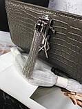 Сумка, клатч Kate Ів Сен Лоран рептилія, натуральна шкіра, фото 8