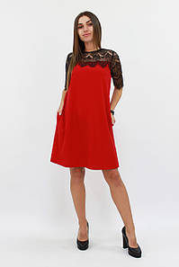 S, M, L / Жіноче коктейльне плаття Arizona, червоний