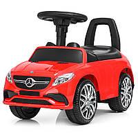 Детская машинка толокар USB музыка Bambi Mercedes M 3818