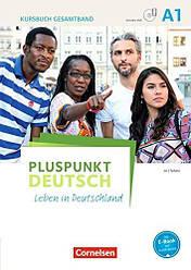 Pluspunkt Deutsch A1 Kursbuch mit Video-DVD