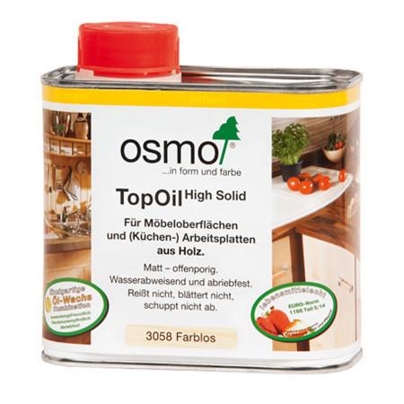 Масло для мебели и столешниц Osmo Top Oil 3028 бесцветное шелковисто-матовое 5 мл
