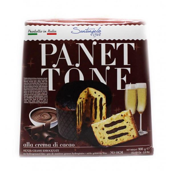 Панеттоне Santangelo alla Crema di Cacao, 908г