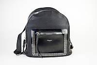 Рюкзак женский David Jones 5484 черный лак