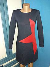 Женское теплое платье Звезда р.44 (М)