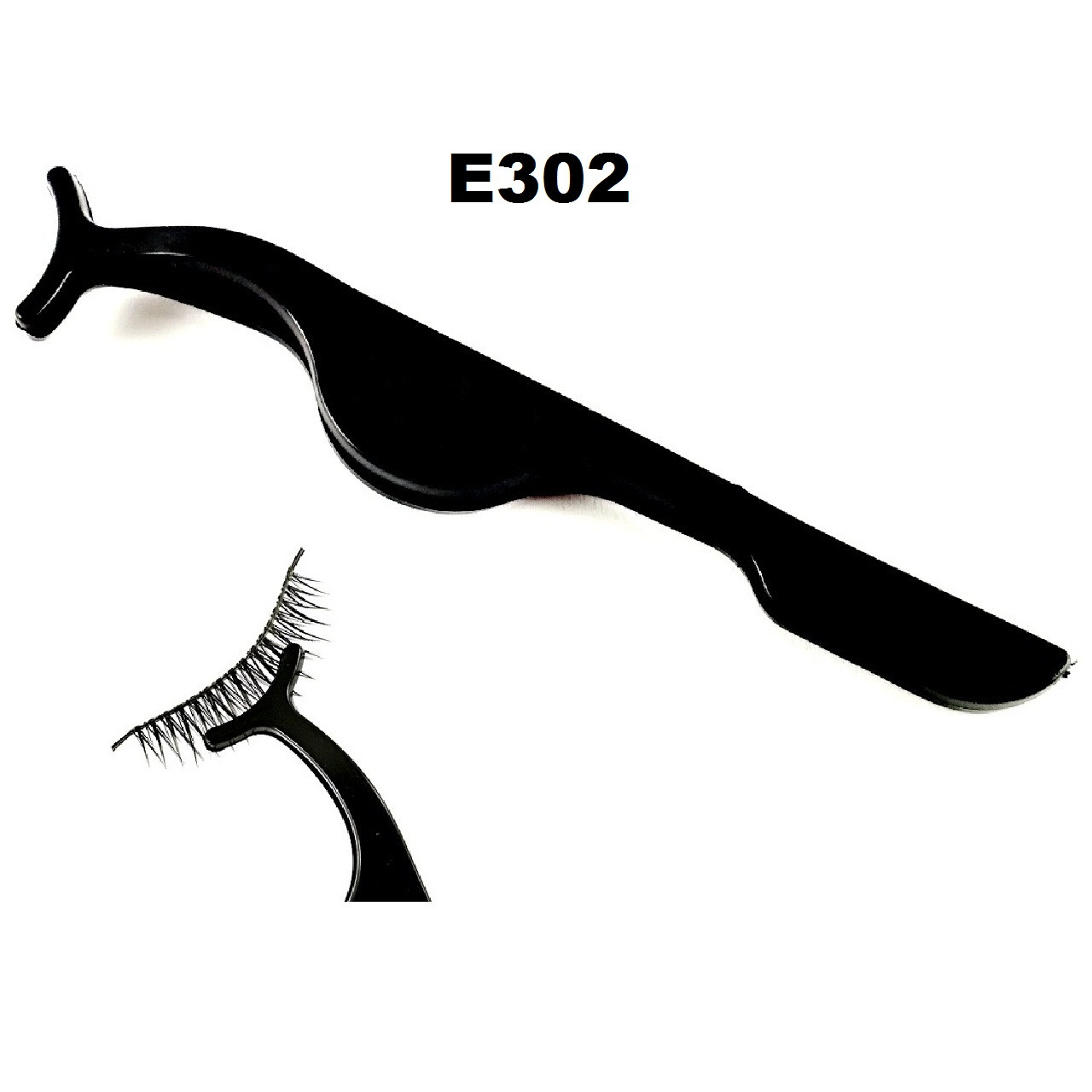 Пинцет для ленточных накладных ресниц (9 видов) Пластик, Черный