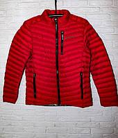 Куртка красная мужская осенняя копия Columbia демисезонная красная мужская спортивная куртка Размеры: XS/S