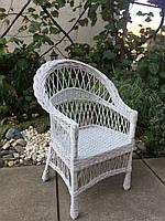 """Кресло """"Обычное"""" белое, фото 1"""
