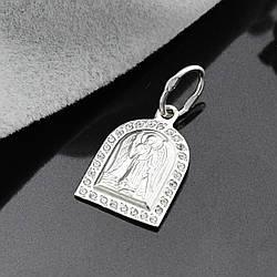 Срібна іконка Архангел розмір 25х12 мм вага срібла 1.56 г