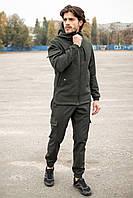Мужской костюм демисезонный Intruder Softshell хаки в размере S(46) M(48) L(50) XL(52) XXL(54) XXXL(56)