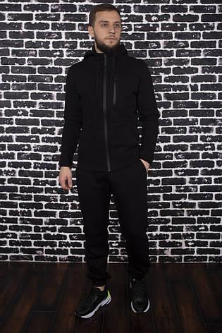 """Спортивный костюм Intruder """"Spirited Hot"""" черный - утепленный флисом, фото 2"""