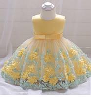Нарядное детское платье X&D  (рост 74)