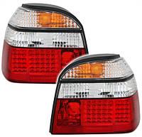 LED диодные фонари задние VW golf 3 фольксваген гольф тюнинг tuning оптика гти gti, фото 1