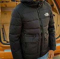 Мужская зимняя теплая куртка норд фейс, North Face , Реплика см.описание