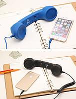 Гарнитура в виде телефонной трубки ретро
