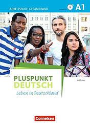 Pluspunkt Deutsch A1 Arbeitsbuch mit Audio-CDs