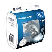 """Автомобильные галогенные лампы """"BREVIA"""" """"Power Blue"""" (H7)(4200K)(12V)"""