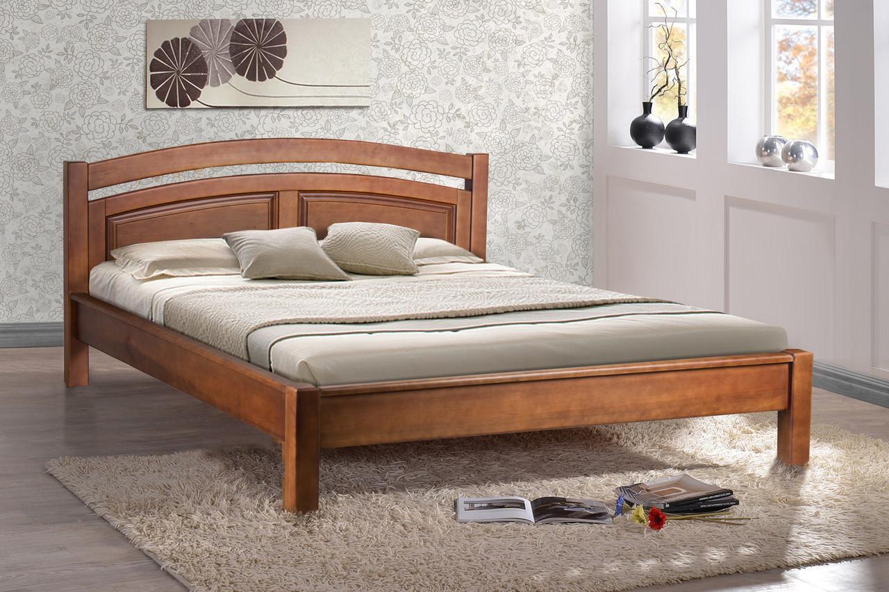 Кровать Фантазия 1,6м ольха орех