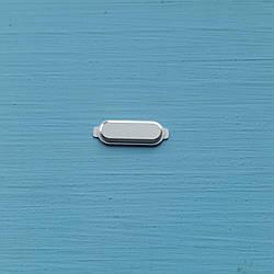 Пластик кнопки меню для Samsung J120 J1 2016 белый