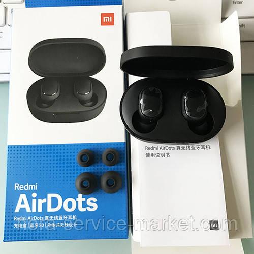 Stereo Bluetooth Headset Redmi AirDots Black (Copy)
