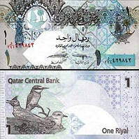 Qatar Катар - 1 Riyal 2015 ( 2008 ) UNC P. 28