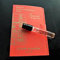Maison Francis Kurkdjian Baccarat Rouge 540 Extrait De Parfum 2 мл