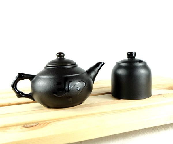 """Чайник заварювальний класичний """"Ієрогліф"""" 500 мл з цукорницею"""