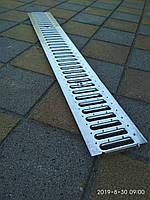 Решетка канала ливневой канализации стальная оцинкованная, фото 1