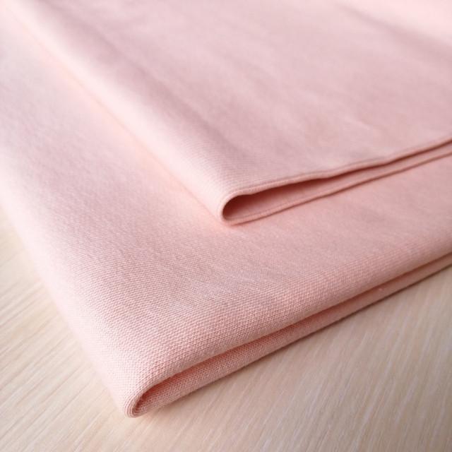 трикотажная ткань кашкорсе пудра, купить в нашем магазине