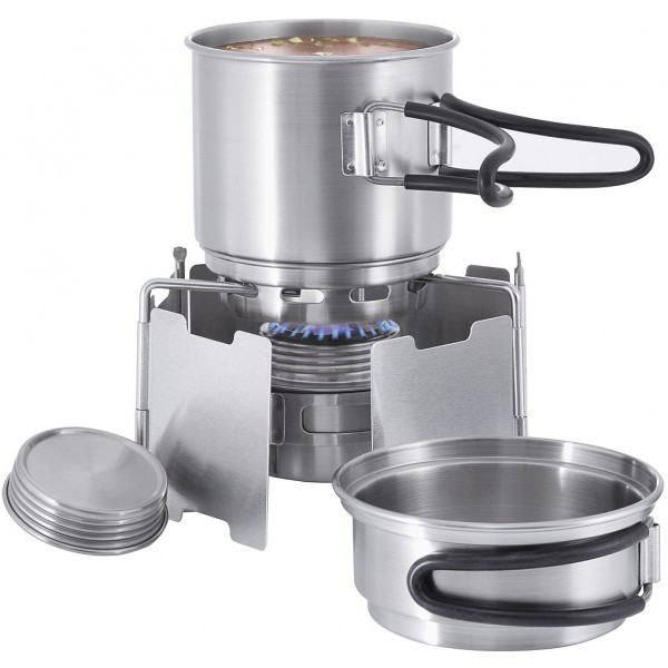 Набор для приготовления пищи Tatonka Alcohol Burner Set 4133.000