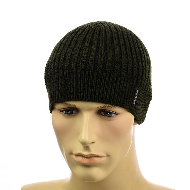 Мужская шапка 1*2 хаки