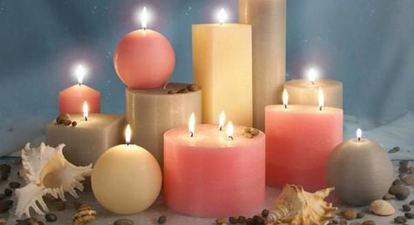 Свечи для торта, свечи плавающие, свечи фонтаны для дня рождения