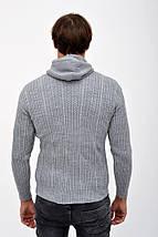 Свитер 124R703 цвет Серый, фото 2