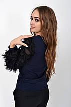 Блуза женская 119R016 цвет Темно-синий, фото 2