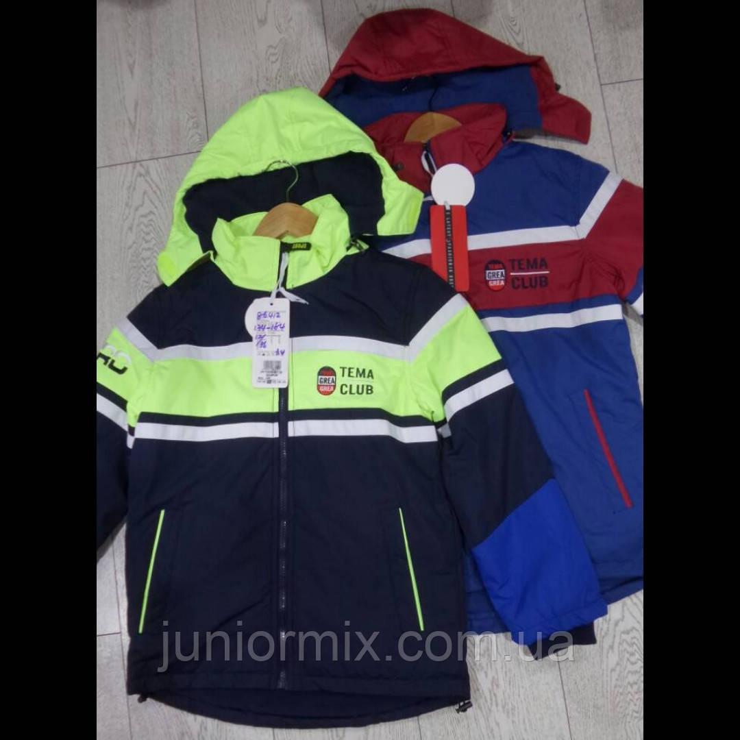 Весенние куртки для мальчиков подростков на флисе GRACE
