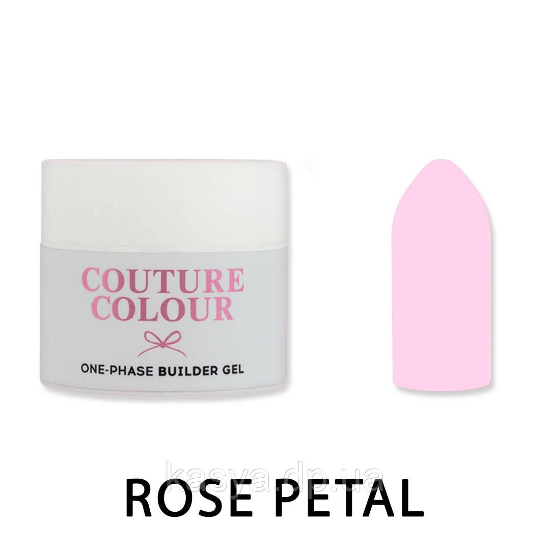 Однофазный гель One-Phase Builder Gel Couture Colour Rose Petal, 15 мл