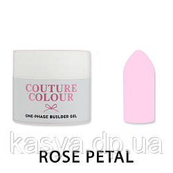 Однофазный гель One-Phase Builder Gel Couture Colour Rose Petal, 15 мл