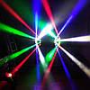 LED дискотечный свет Spider Moving Head DMX 8x3W RGBW, фото 7