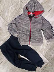 Спортивный  теплый костюм  на мальчиков 98-104 см