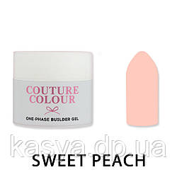 Однофазный гель One-Phase Builder Gel Couture Colour Sweet Peach, 15 мл