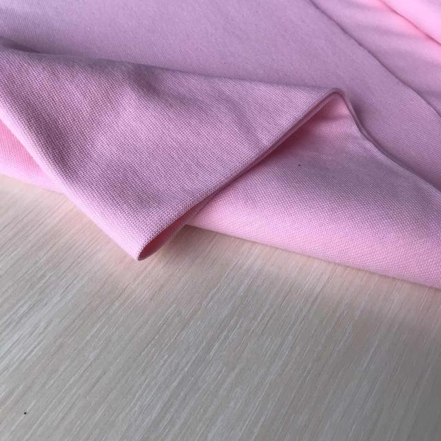 трикотажная ткань рибана розовая, купить в нашем магазине