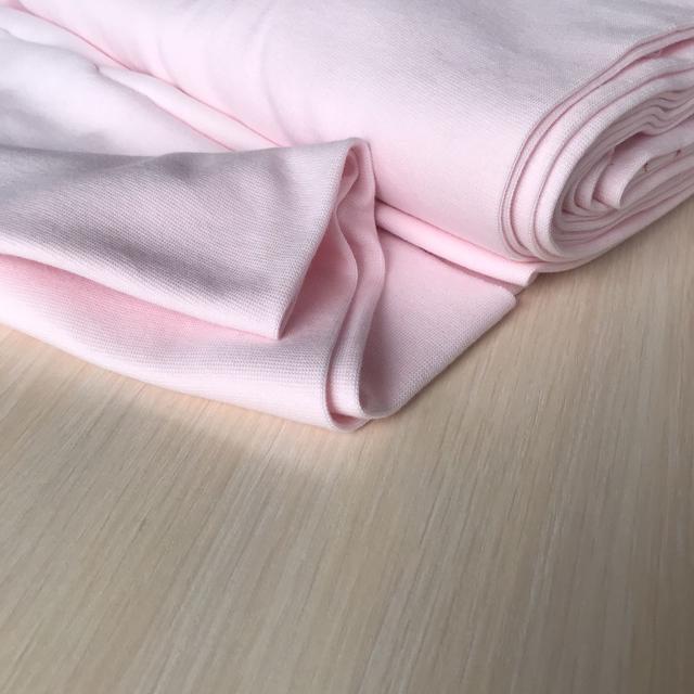 трикотажная ткань рибана светло розовый, купить в нашем магазине