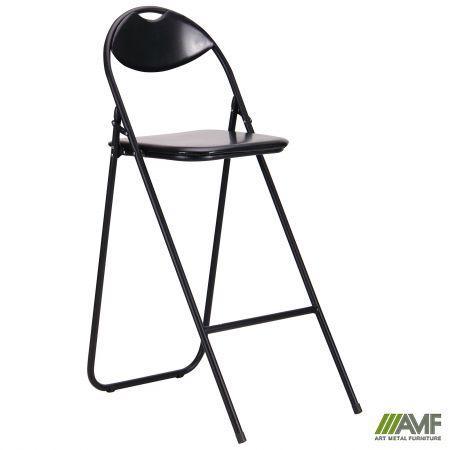 Офисный стул Джокер Хокер чёрный/пвх AMF