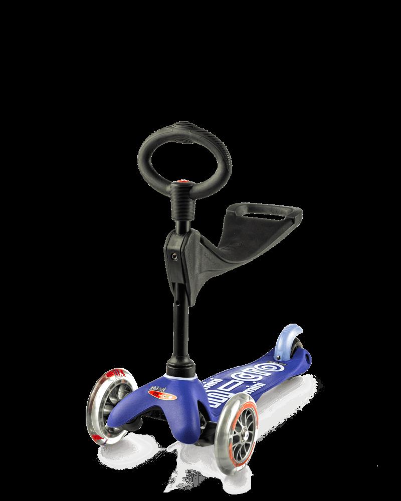 Самокат Mini Micro 3in1 Deluxe Blue (Синий)