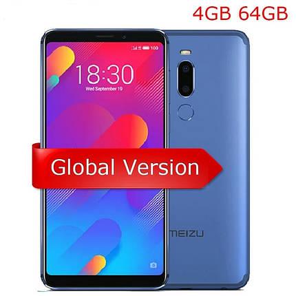 """Смартфон Meizu M8 Blue 4/64GB 5.7"""" 12+5Мп Global Version НОВИНКА!!! ОРИГИНАЛ, фото 2"""