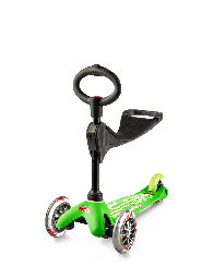 Самокат Mini Micro 3 in 1 Deluxe Green (Зеленый)