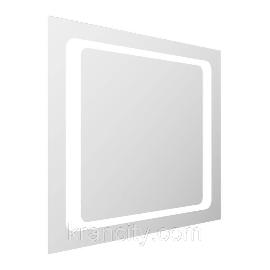 Зеркало квадратное 60*60см со светодиодной подсветкой VOLLE
