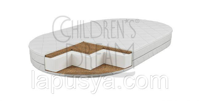 Дитячий овальний матрас Childrens Dream Oval