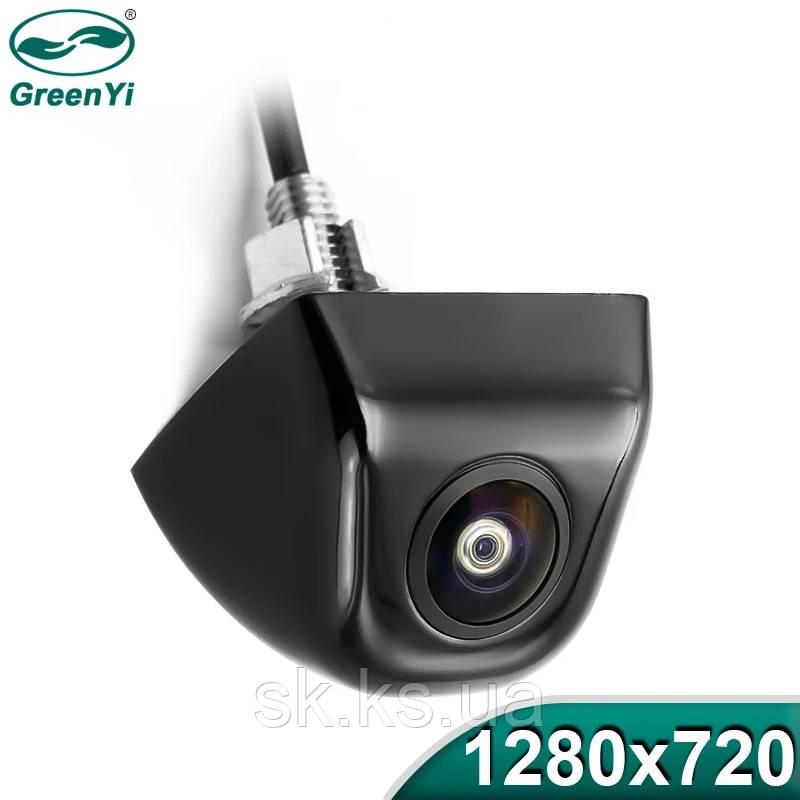 Специальная задняя  камера AHD  для   штатных магнитол  с переходником
