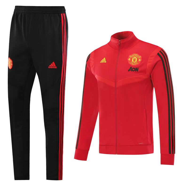 Спортивный тренировочный костюм Манчестер юнайтед 2019-20